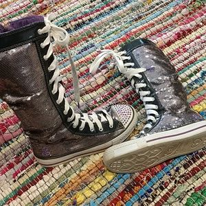🌠5 for $25🌠Sketchers Sequin Hightop Shoes